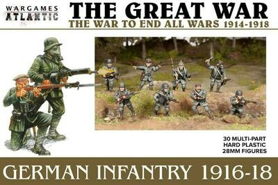 The Great War: German Infantry 1916-18