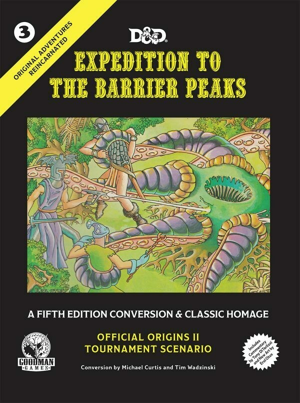 D&D 5th Edition Original Adventures Reincarnated #3: Expedition to the Barrier Peaks