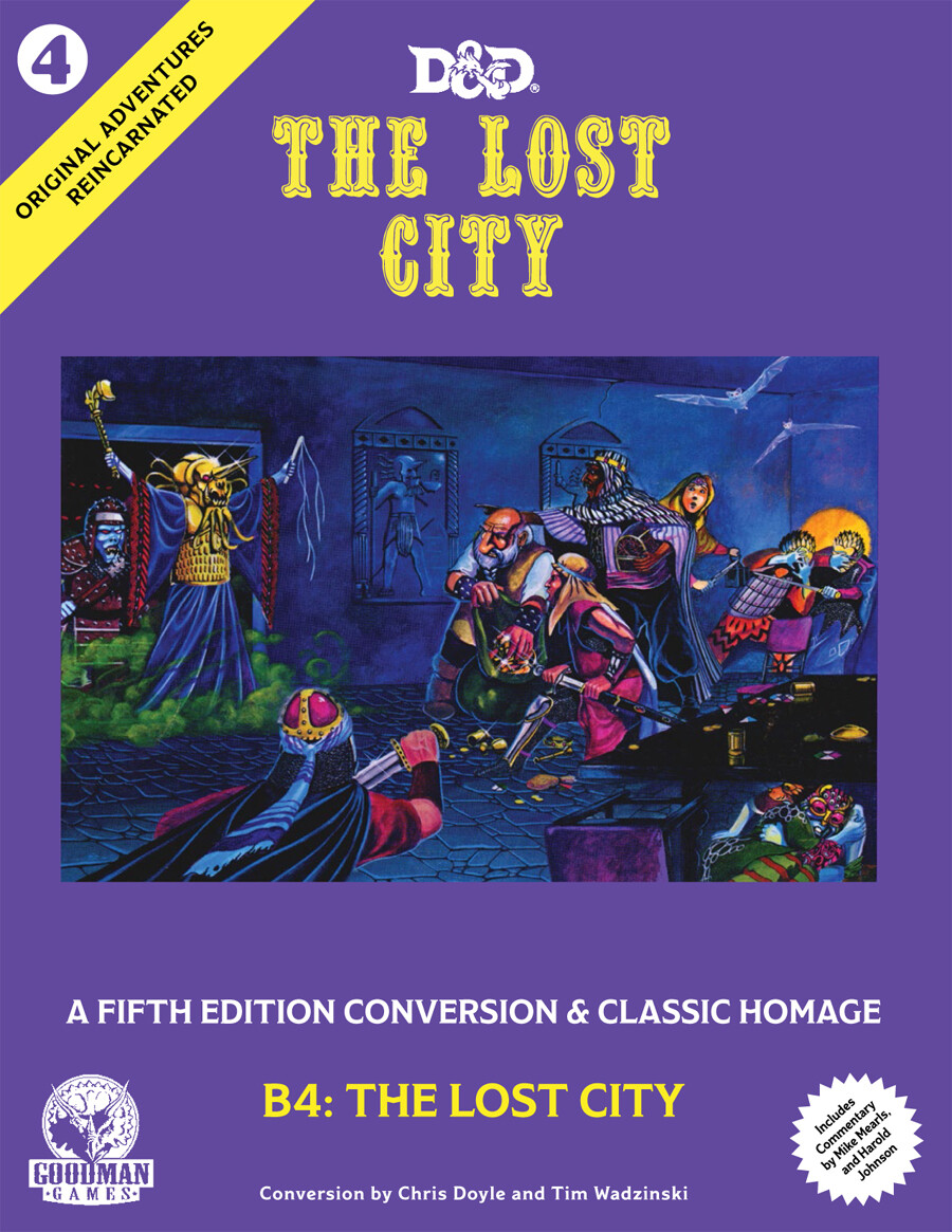 D&D 5th Edition Original Adventures Reincarnated #4: The Lost City