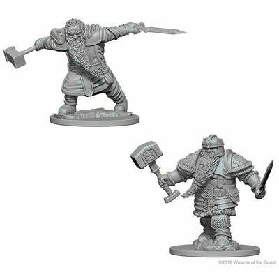 D&D: Nolzur's Marvelous Miniatures - Dwarf Fighter, Male