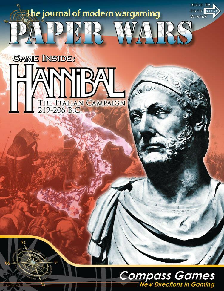 Paper Wars: Hannibal - The Italian Campaign 218-206 B.C.