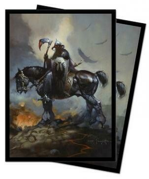 Death Dealer Standard Size Deck Protectors by Frank Frazetta 100ct; 66mm X 91mm