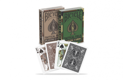 Bicycle Playing Cards: Tactical Field
