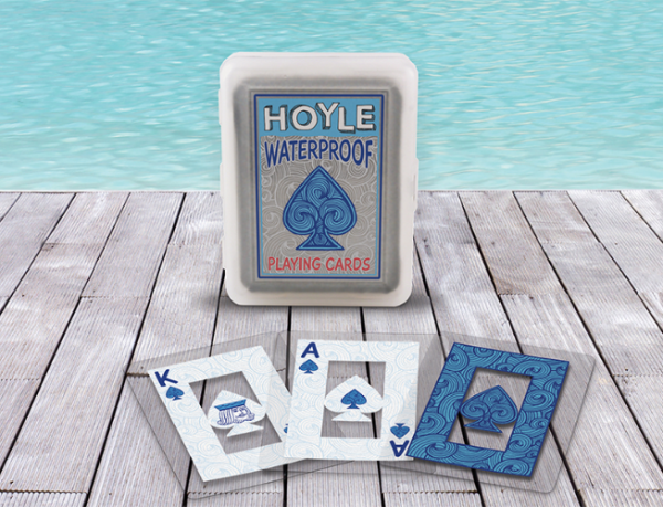 Hoyle Playing Cards: Waterproof, Clear
