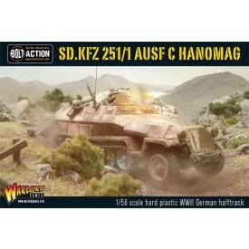 Bolt Action: German Sd.Kfz 251/1 Ausf C HanoMag
