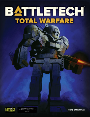 Battletech: Total Warfare - Core Game Rules (Hardcover)