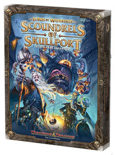 Dungeons & Dragons: Lords of Waterdeep Expansion: Scoundrels of Skullport