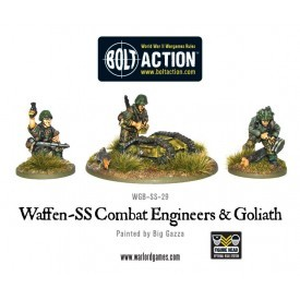 Bolt Action: German Waffen-SS Combat Engineers & Goliath