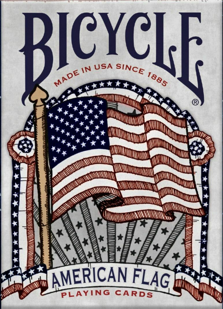 Bicycle Playing Cards: American Flag