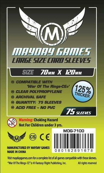 War of the Rings Premium Sleeves (75/pack) 70 X 120 MM