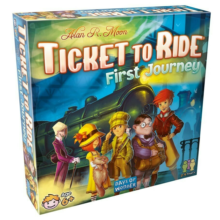 Ticket to Ride: First Journey - USA