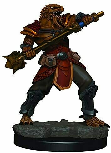 D&D: Icons of the Realms Premium Miniatures - Dragonborn Fighter (Male)