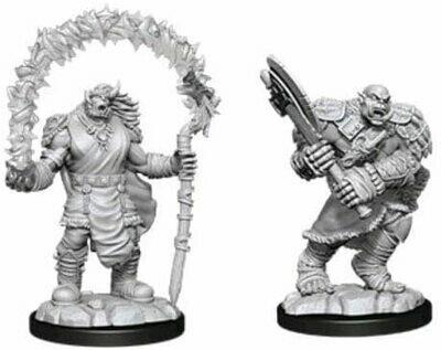D&D: Nolzur's Marvelous Miniatures - Orc Adventurers