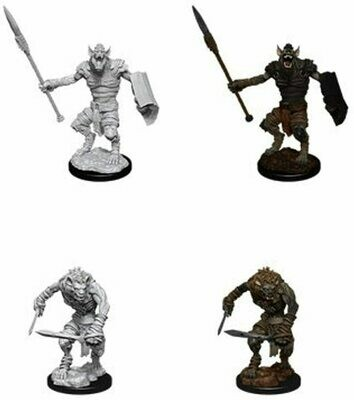 D&D: Nolzur's Marvelous Miniatures - Gnoll & Gnoll Flesh Gnawer