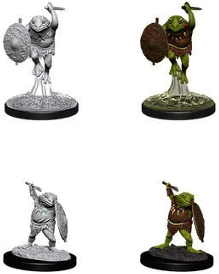 D&D: Nolzur's Marvelous Miniatures - Bullywug