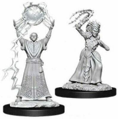D&D: Nolzur's Marvelous Miniatures - Drow Mage & Drow Priestess