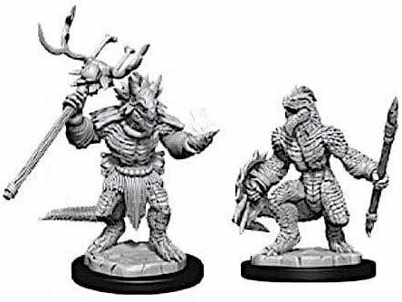 D&D: Nolzur's Marvelous Miniatures - Lizardfolk & Lizardfolk Shaman