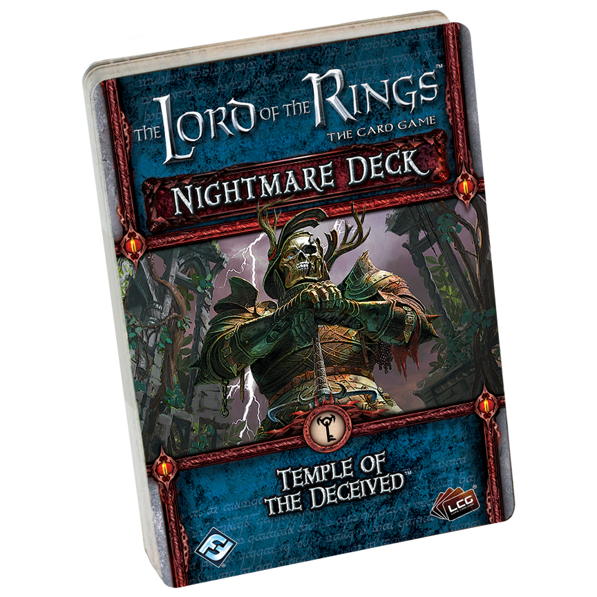 The Lord of the Rings The Card Game: Temple of the Deceived Nightmare Deck