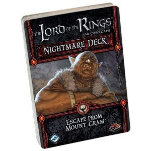 The Lord of the Rings The Card Game: Escape From Mount Gram Nightmare Deck