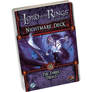 The Lord of the Rings The Card Game: The Three Trials Nightmare Deck