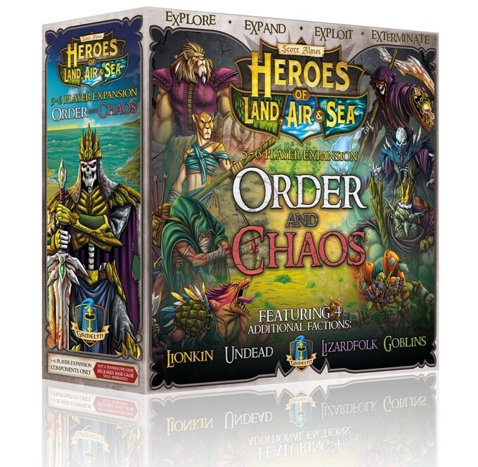 Heroes of Land, Air & Sea: Order and Chaos, 5-6 Player Expansion