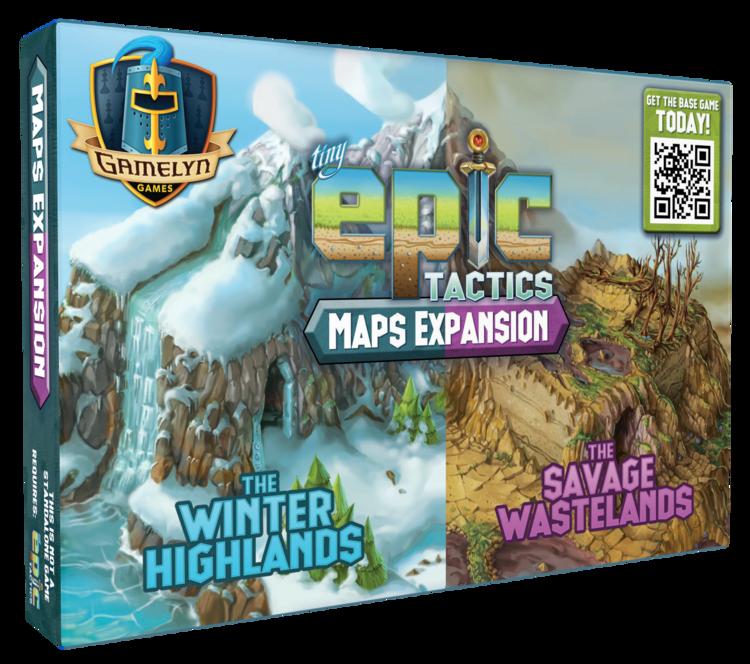 Tiny Epic Tactics Map Expansion