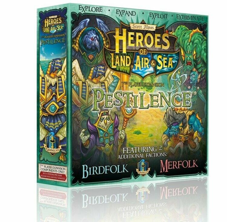 Heroes of Land, Air & Sea: Pestilence, 7th Player Expansion