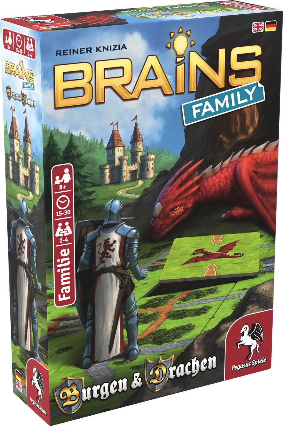 Brains Family - Castles & Dragons
