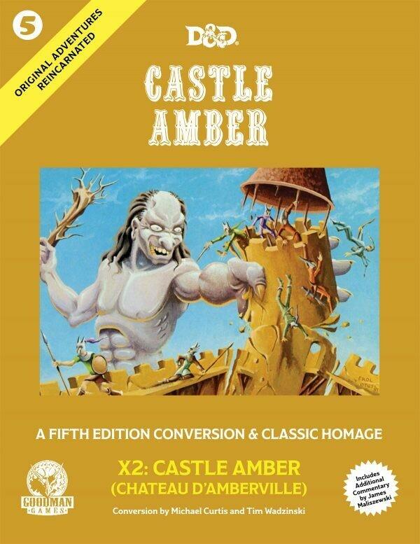 D&D 5th Edition Original Adventures Reincarnated #5: Castle Amber