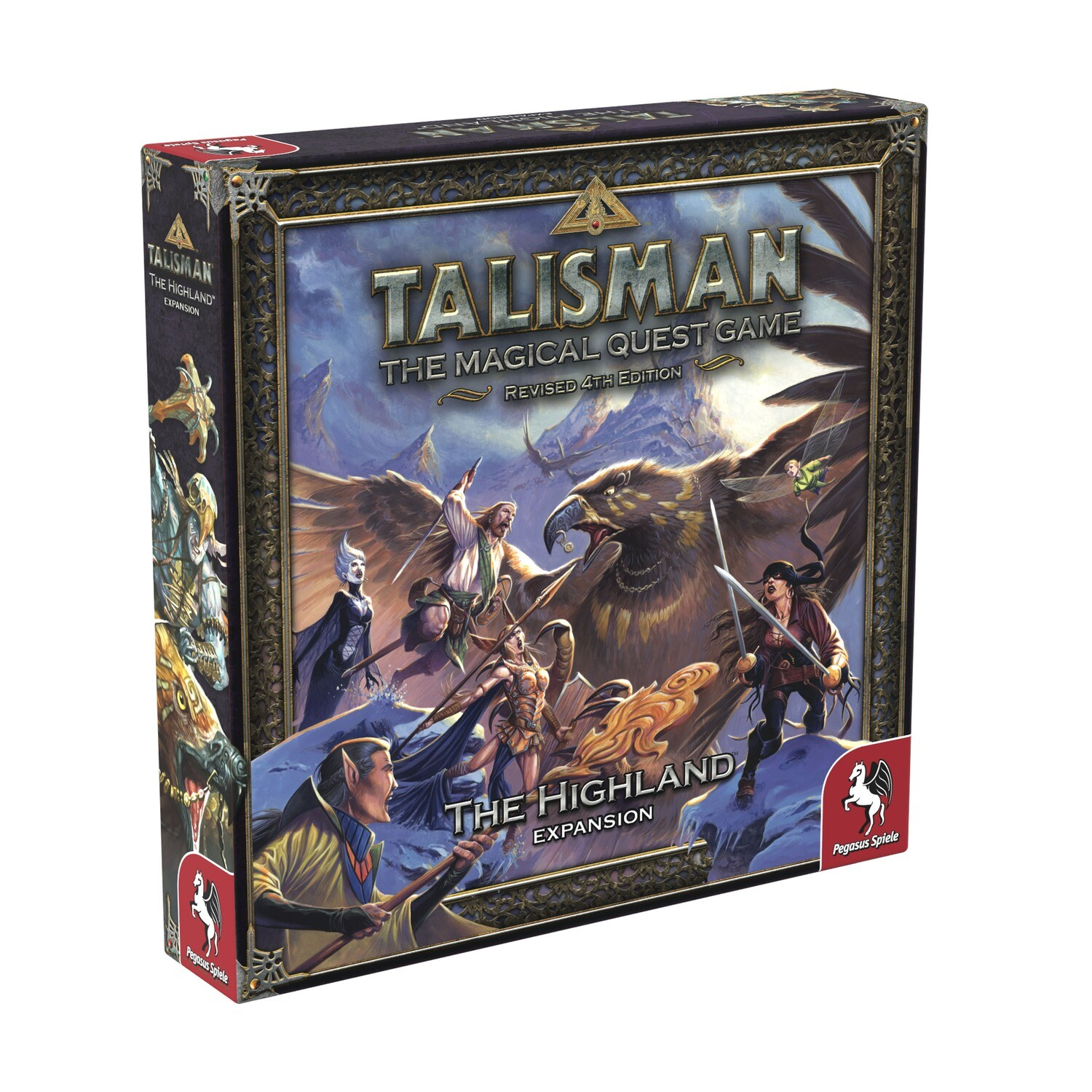 Talisman (Rev4E): The Highland Expansion
