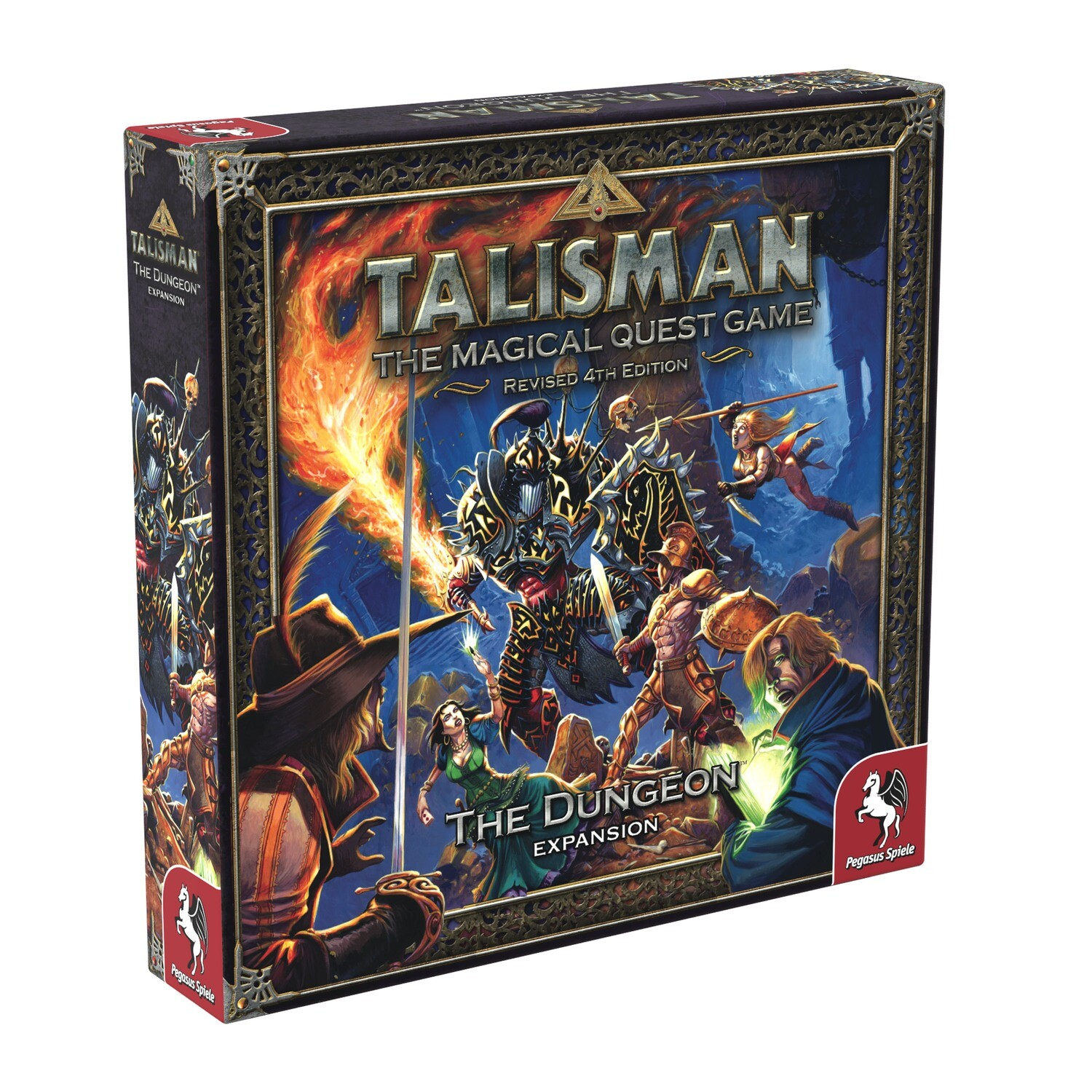 Talisman (Rev4E): The Dungeon Expansion
