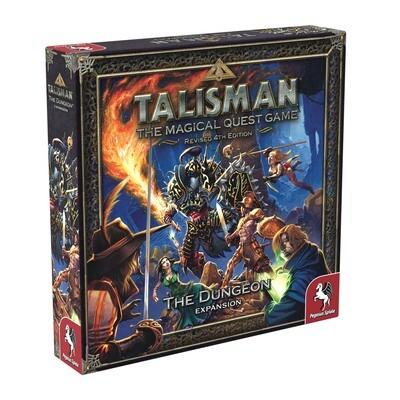 Talisman (Rev4E): The Dungeon Expansion (DING/DENT-Medium)
