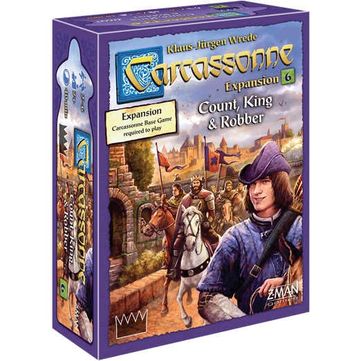 Carcassonne: Count, King, & Robber - Expansion #6