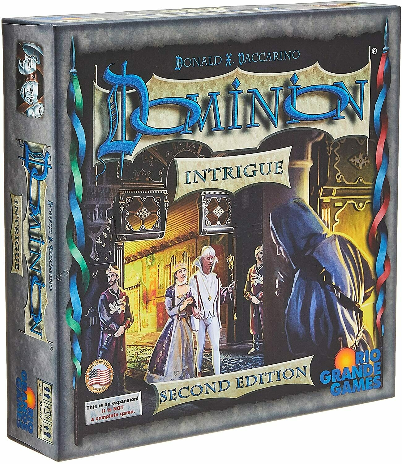 Dominion: Intrigue Expansion, 2nd Edition (DING/DENT-Very Light)