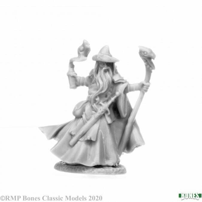Bones: Kelainen Darkmantle, Wizard