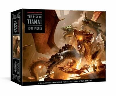 Dungeons & Dragons: The Rise of Tiamat 1000 Piece Jigsaw Puzzle