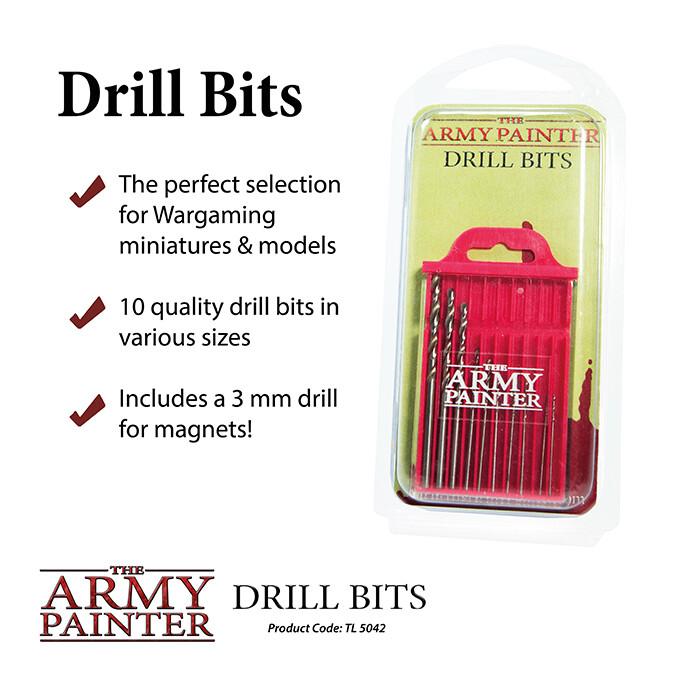 Miniature and Model Drill Bits