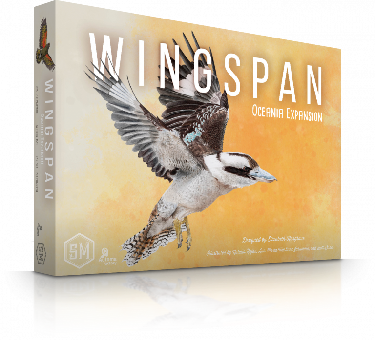 Wingspan Oceania Expansion (DING/DENT-Heavy)