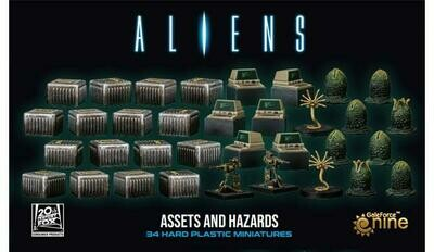 Aliens: Assets and Hazards Miniatures Pack