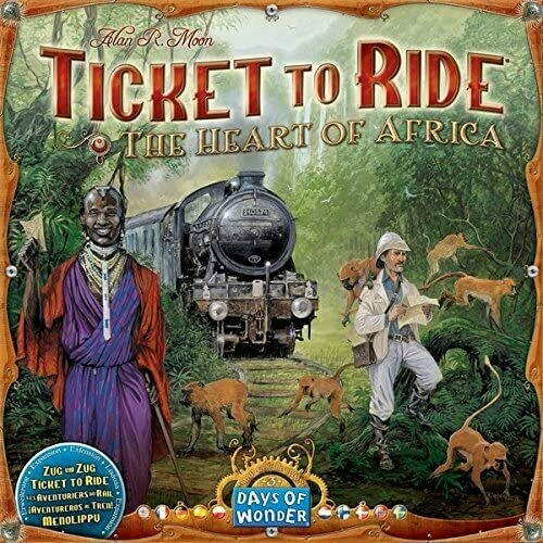 Ticket to Ride Map Collection Volume 3: The Heart of Africa