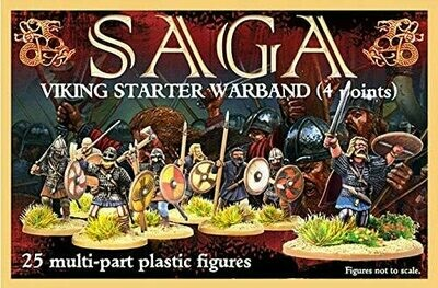 SAGA: Anglo Dane or Anglo Saxon Starter Warband (4 points)