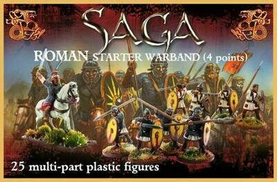 SAGA: Roman Starter Warband (4 points)