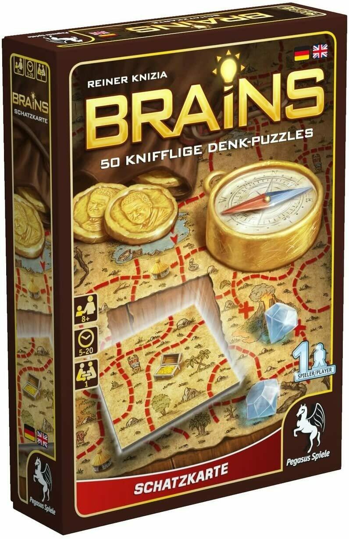 Brains: Treasure Map (DING/DENT-Light)