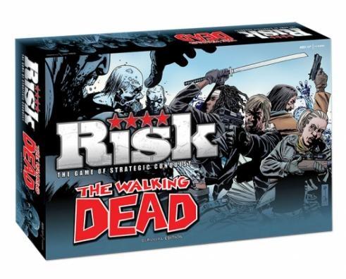 RISK: The Walking Dead Survival Edition (Ding/Dent-Heavy)