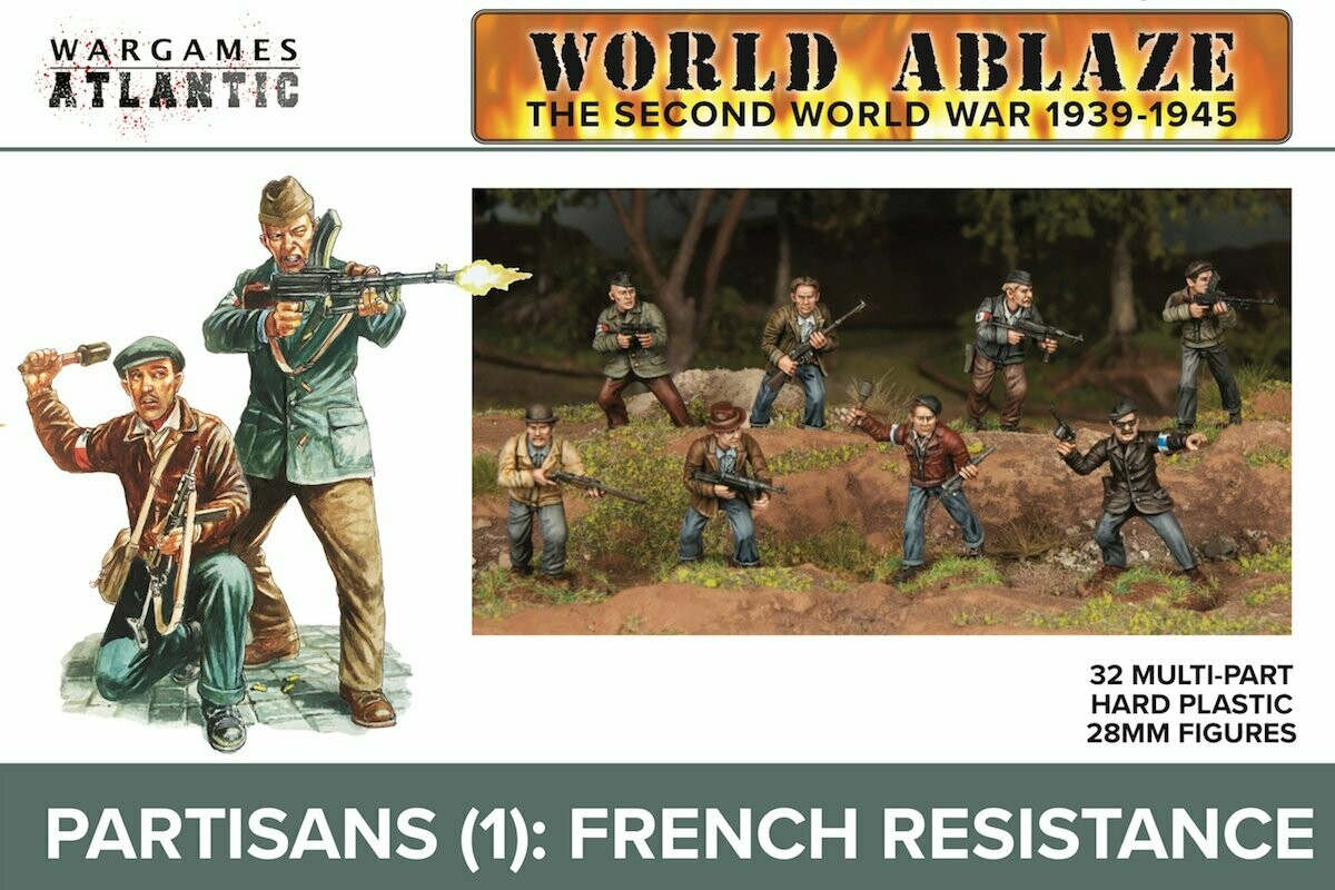 World Ablaze: Partisans (1) French Resistance
