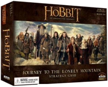 The Hobbit: Journey to the Lonely Mountain Strategy Game (Ding/Dent-Light)
