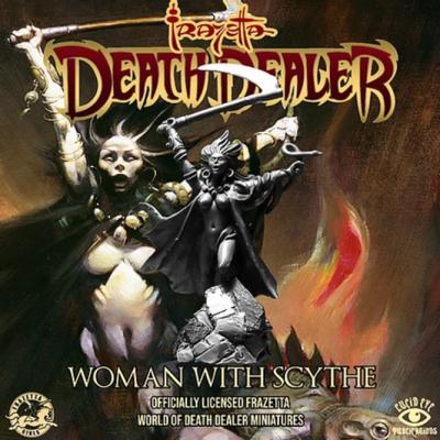 Frazetta World of Death Dealer - Woman with Scythe