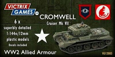 12mm: WWII - Cromwell Cruiser Mk VII (6)