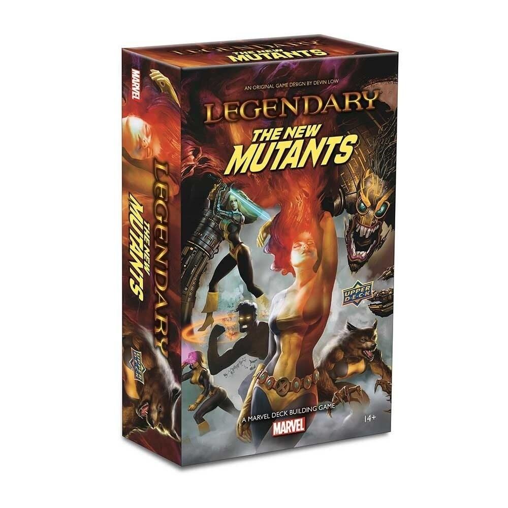 Legendary: A Marvel Deck Building Game - The New Mutants Expansion
