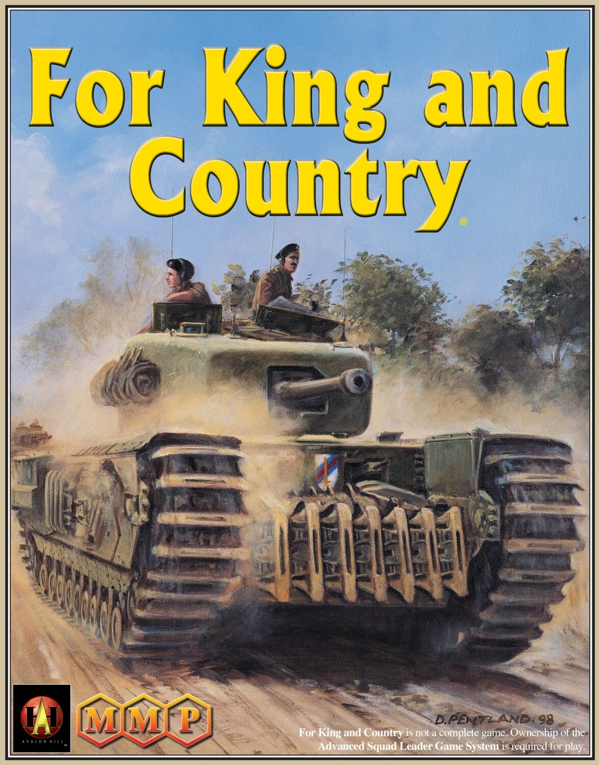 Advanced Squad Leader: ASL Module 5a - For King and Country